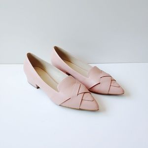 Cole Haan Camila Skimmer Pink Pointy Flats Size 8
